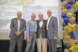 Domenic Inferrera Celebrates 50 Years with Interstate Electrical Services Corporation
